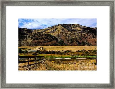 Clark Fork River Framed Print