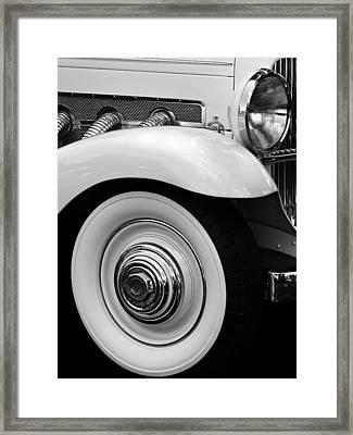 Clark Gable Duesenberg Framed Print