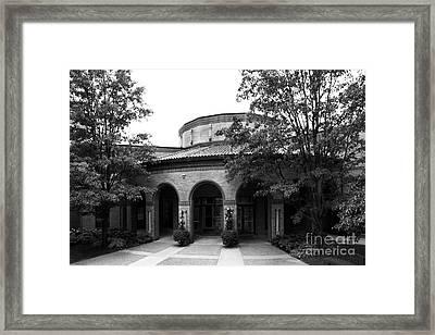 Clarke University Kehl Center Framed Print by University Icons