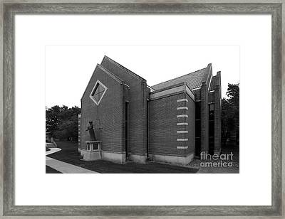 Clarke University Sacred Heart Chapel Framed Print by University Icons