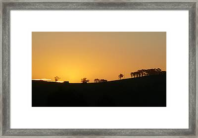 Framed Print featuring the photograph Clarkes Road by Evelyn Tambour
