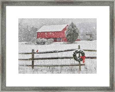 Clarks Valley Christmas 2 Framed Print