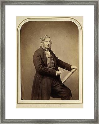 Clarkson Stanfield Framed Print by British Library