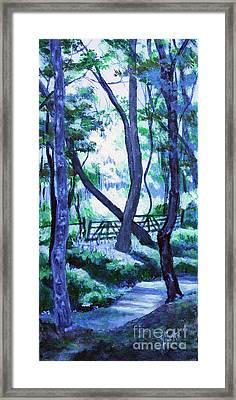 Clarksville Greenway 2 Framed Print
