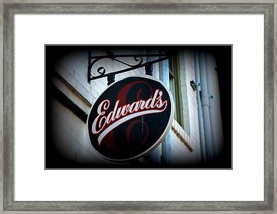 Clarksville Tn Framed Print by Shannon Wall