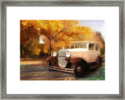 Clasis Ford Framed Print
