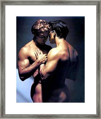 Clasp Framed Print