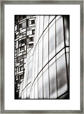 Class And Glass Framed Print by Russell Styles