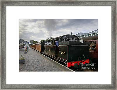 Class N7 0 6 0 2t 69621 Tank Locomotive Framed Print by Simon Pocklington