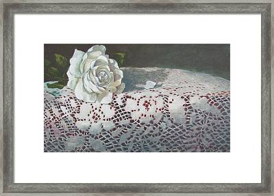 Class On Class Framed Print by Tony Caviston