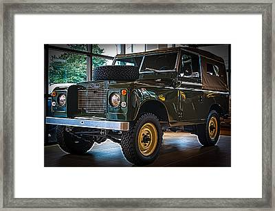 Classic 1969 Land Rover Series IIa Framed Print
