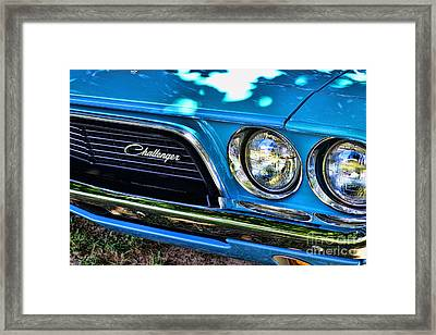 Classic 1974 Dodge Challenger Framed Print by Paul Ward