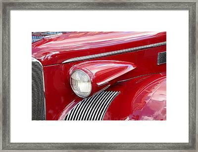 Classic 39 Cadillac Framed Print by David Lee Thompson