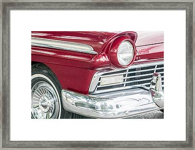 Classic 50s Style Framed Print