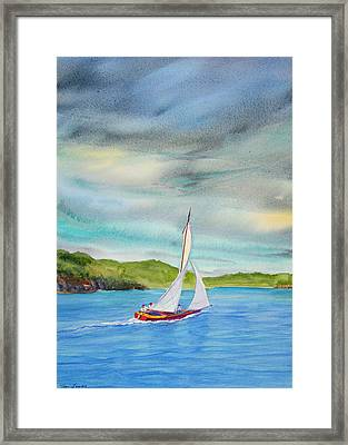 Classic Afternoon Framed Print by Teri  Jones