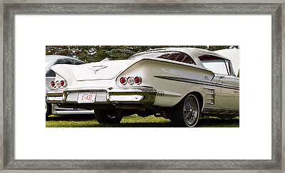 Classic American Car Framed Print
