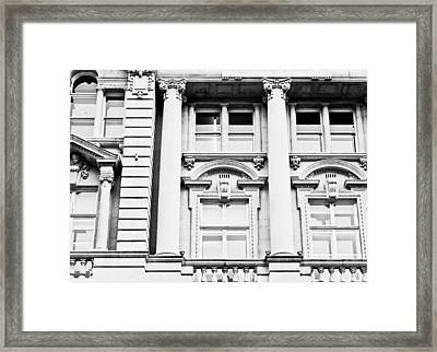 Classic Architecture Framed Print by Tom Gowanlock