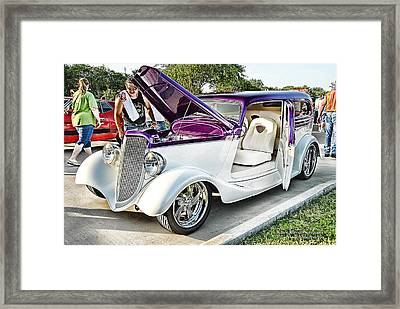 Framed Print featuring the photograph Classic Auto   by Dyle   Warren