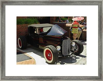 Classic Auto Show Framed Print by James C Thomas