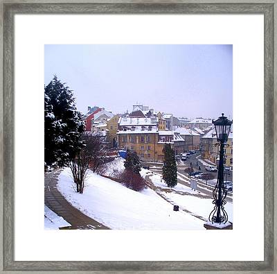 Classic Beauty Lublin Poland  Framed Print by Rick Todaro