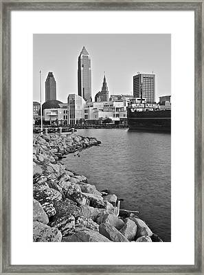 Classic Black And White Framed Print by Frozen in Time Fine Art Photography