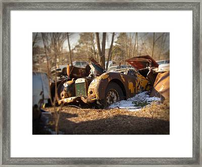 Classic British Framed Print by  Nick Solovey