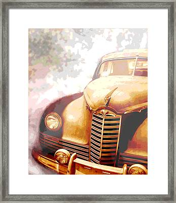 Classic Car 1940s Packard  Framed Print by Ann Powell