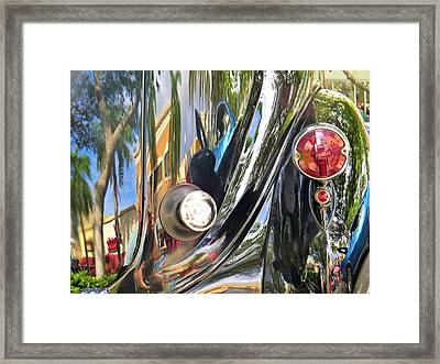 Classic Car Abstract Framed Print