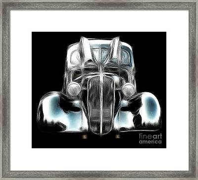 Framed Print featuring the photograph Classic Car Abstract by JRP Photography