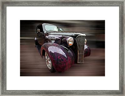 Classic Car Framed Print by Andre Faubert