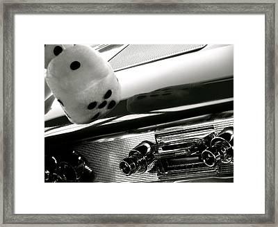 Classic Car Tunes Framed Print