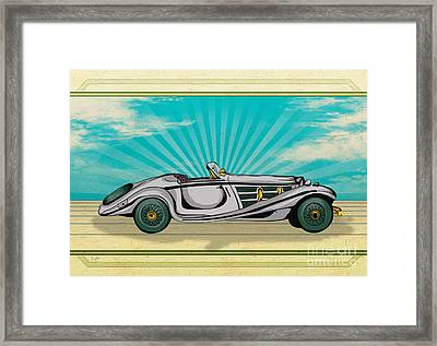 Classic Cars 02 Framed Print by Bedros Awak