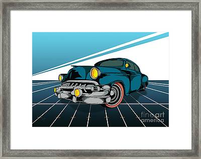 Classic Cars 03 Framed Print by Bedros Awak