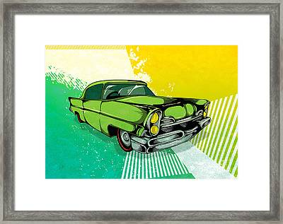 Classic Cars 04 Framed Print by Bedros Awak