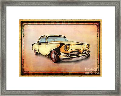 Classic Cars 08 Framed Print by Bedros Awak