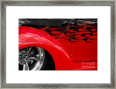 Classic Cars Beauty By Design 11 Framed Print by Bob Christopher