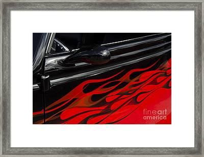 Classic Cars Beauty By Design 12 Framed Print by Bob Christopher