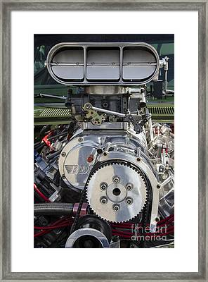 Classic Cars Beauty By Design 13 Framed Print by Bob Christopher