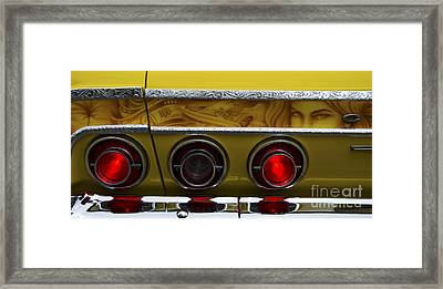 Classic Cars Beauty By Design 14 Framed Print by Bob Christopher