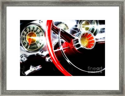 Classic Cars Beauty By Design 4 Framed Print by Bob Christopher