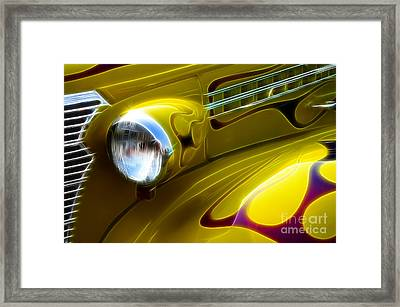Classic Cars Beauty By Design 5 Framed Print by Bob Christopher