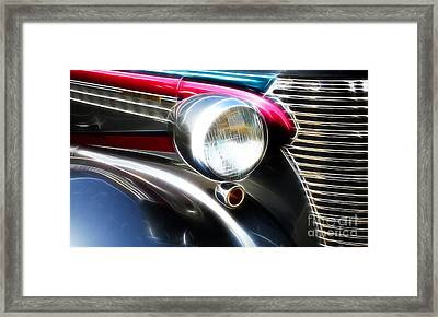 Classic Cars Beauty By Design 7 Framed Print by Bob Christopher