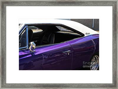Classic Charger Framed Print by John Rizzuto