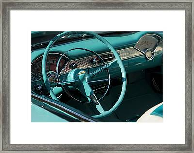 Classic Chevrolet Bel Air Framed Print by Theresa Tahara