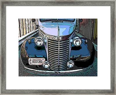 Classic Chevy Pickup 1 Framed Print