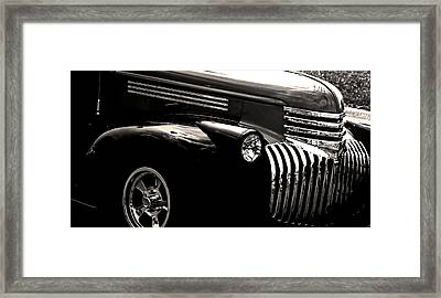 Classic Chevy Truck Framed Print by Optical Playground By MP Ray