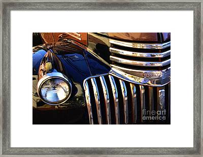 Framed Print featuring the photograph Classic Chevy Two by John S