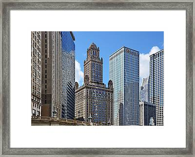 Classic Chicago -  The Jewelers Building Framed Print by Christine Till