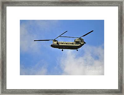 Classic Chinook Framed Print by Al Powell Photography USA