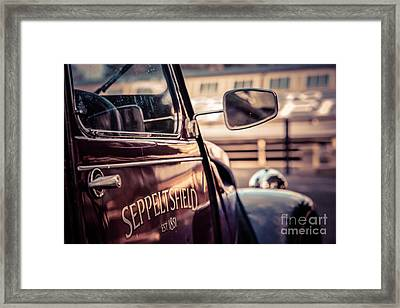 Classic Citroen I Framed Print